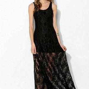 Love Sadie Lace Allover Maxi Dress XS